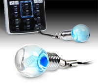 Lightbulb Phonecharm