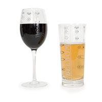 Стаканы - спиртометры AlcoholOmeter Glasses
